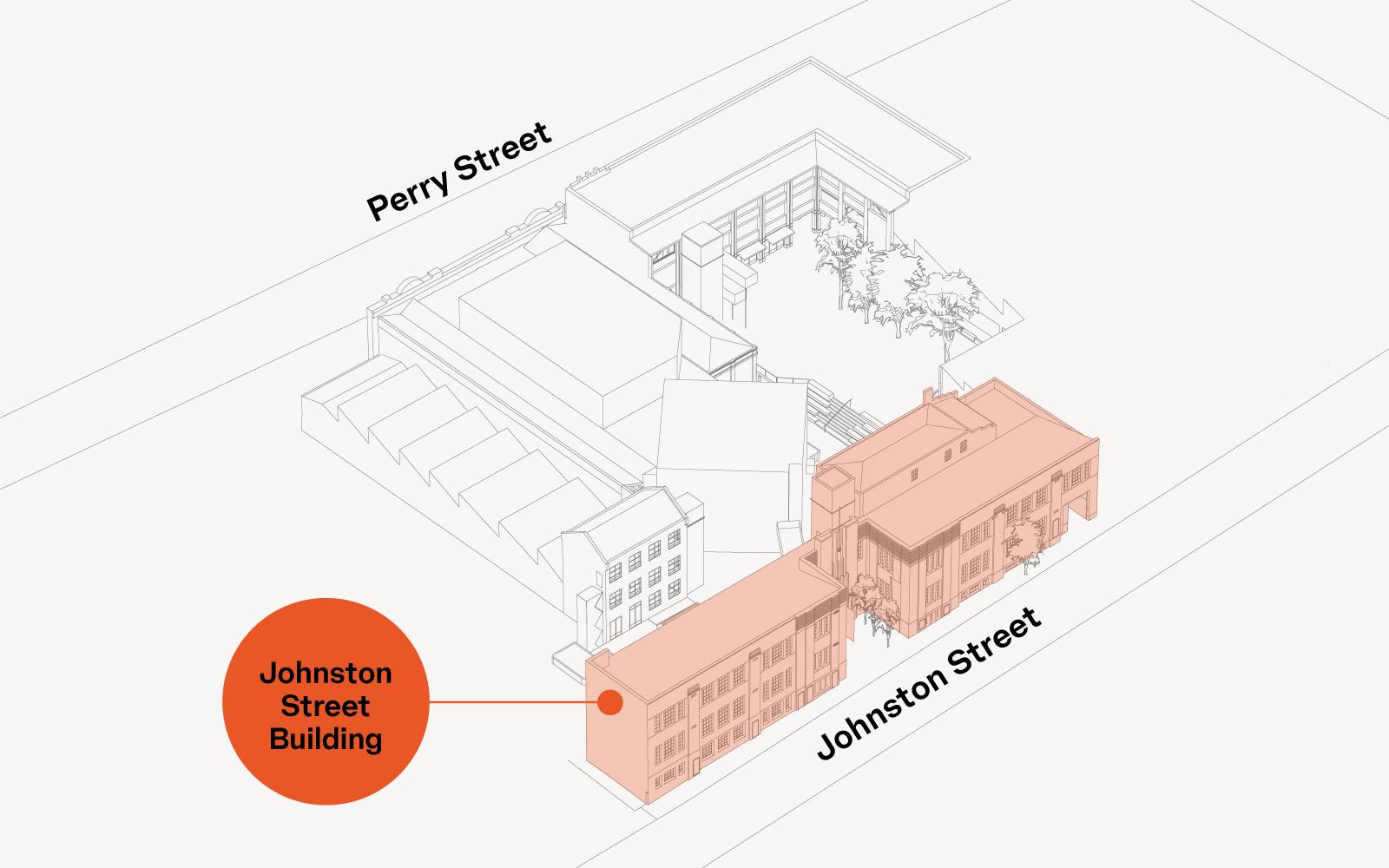 Johnston Street Building Map
