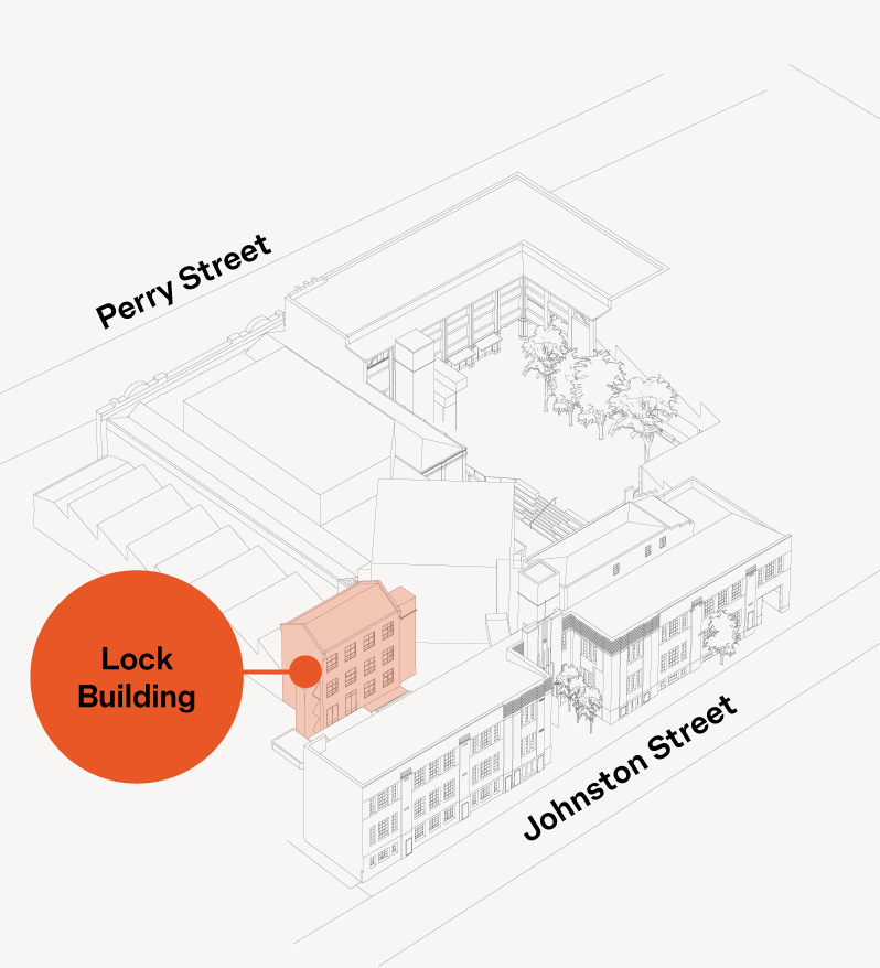 Lock Building Map